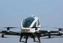 Sürücüsüz drone' en zorlu testten geçti