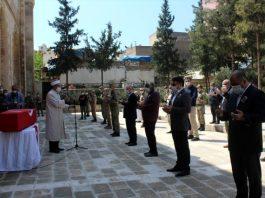 Hakkari'de şehit olan asker son yolculuğuna uğurlandı