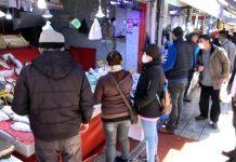 Samsun'da sokağa çıkma yasağı öncesi balık satışlarında patlama yaşandı
